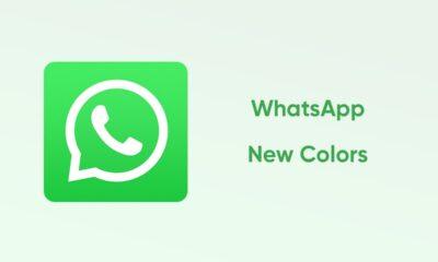 WhatsApp New Colors