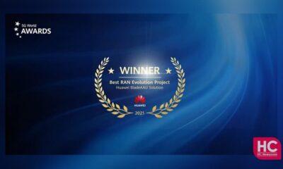 Huawei BladeAAU Solutions Award