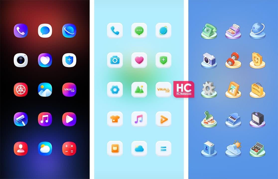HarmonyOS icons