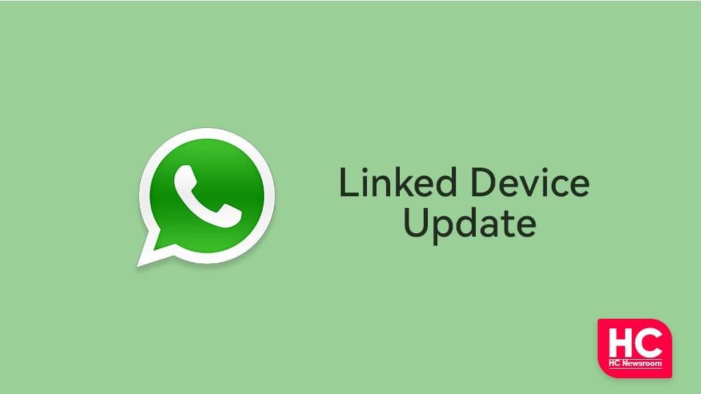 WhatsApp Linked Device Update