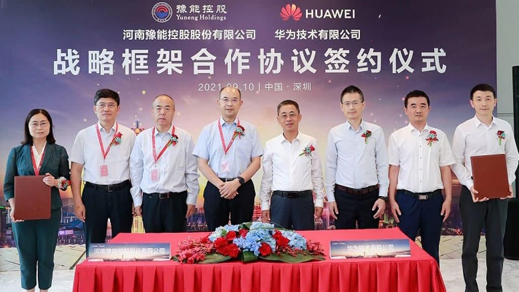 Huawei and Yuneng Holdings