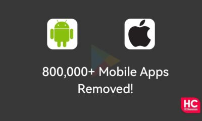 Android Apple Apps removed