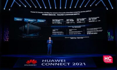 Huawei cluster computing solution
