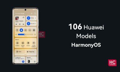 106 Huawei HarmonyOS Devices