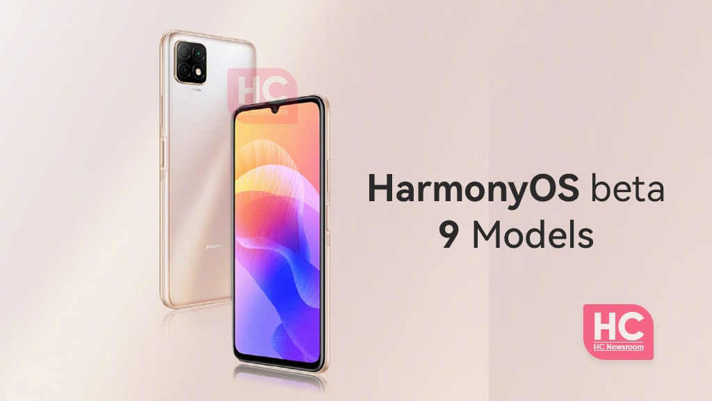 HarmonyOS Beta 9 Models