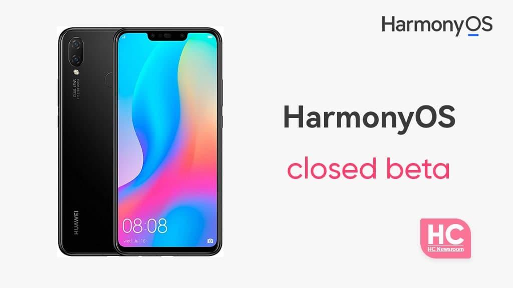 HarmonyOS closed beta