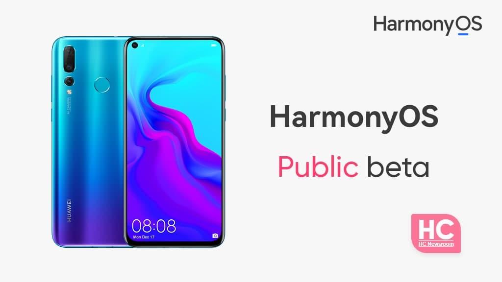 HarmonyOS public Beta