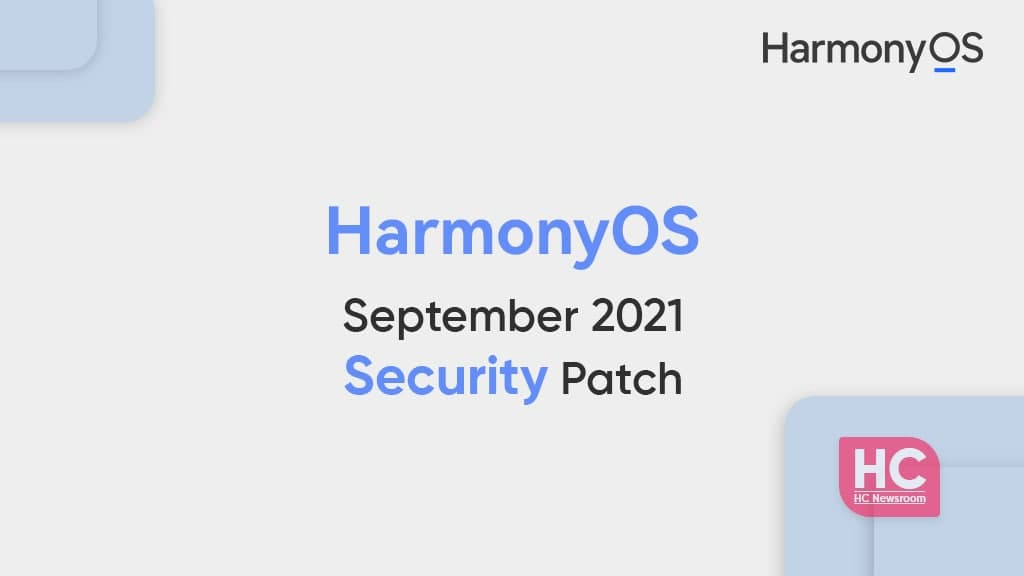 HarmonyOS September 2021 security patch details