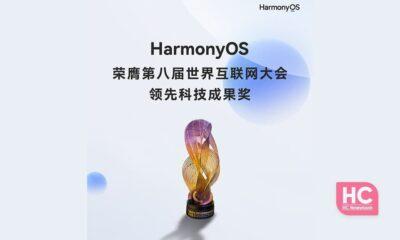 HarmonyOS best technology award