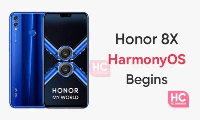 Honor 8X HarmonyOS