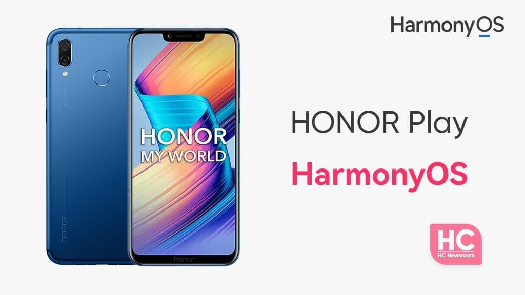Honor Play HarmonyOS