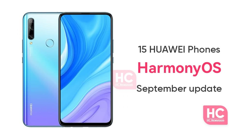 Huawei 15 Devices HarmonyOS
