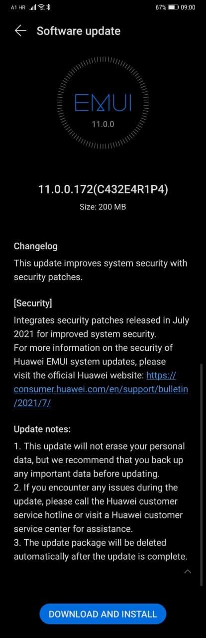 Huawei Mate 20 Pro July 2021