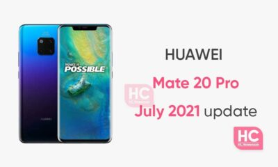 Huawei Mate 20 Pro july update