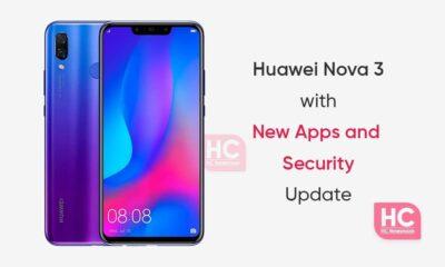 Huawei Nova 3 New update