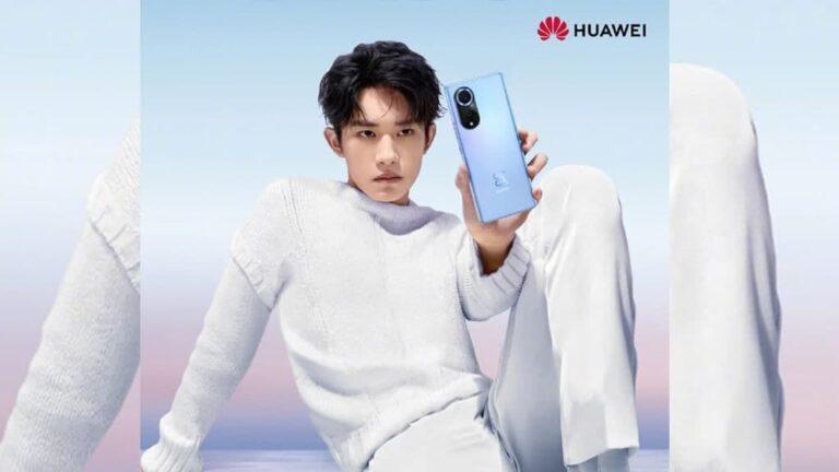 Huawei Nova 9 Announcement Poster
