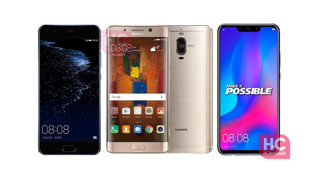Huawei P10 Mate 9 Nova 3