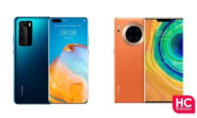 Huawei P40 an Mate 30