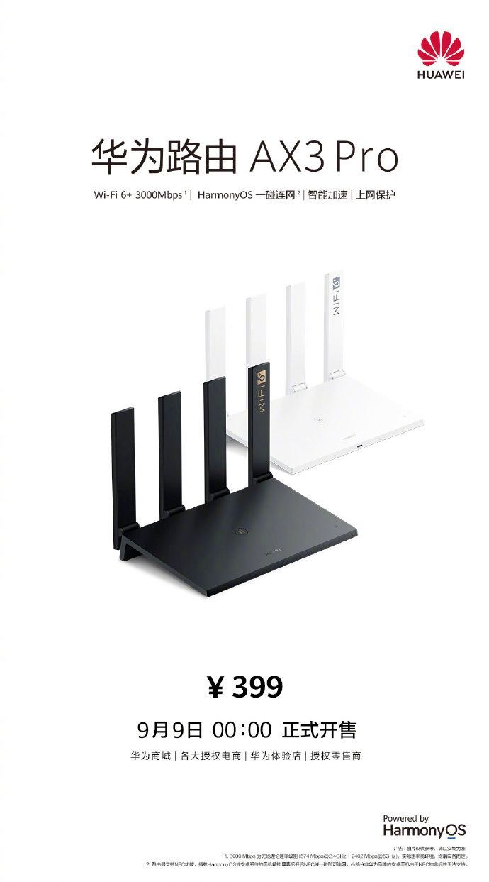 Huawei router AX3 Pro Sale