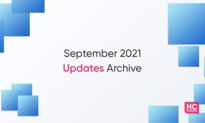 EMUI september 2021 updates