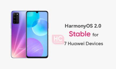 7 Devices Stable HarmonyOS 2.0