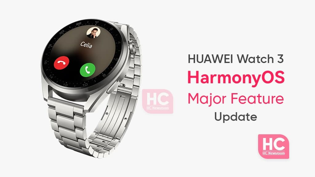 Huawei Watch 3 major harmonyos