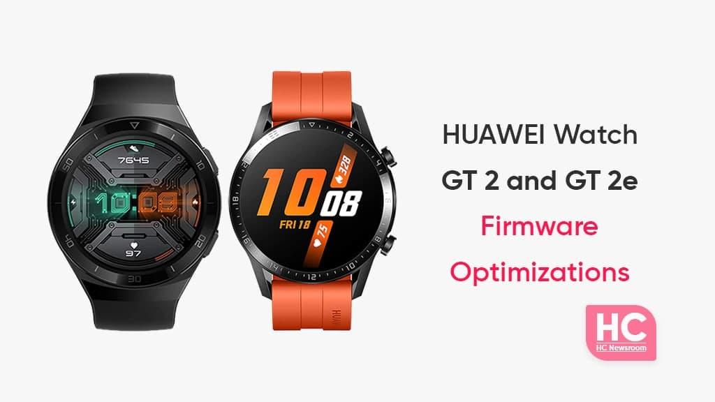 Huawei Watch GT 2 and GT 2e update
