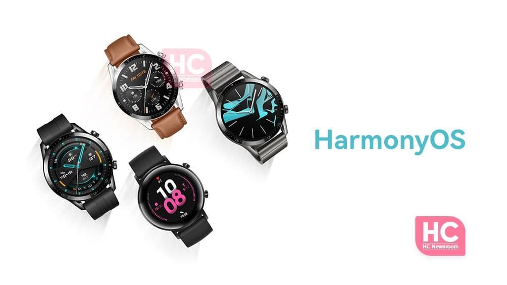 huawei watch gt harmonyos