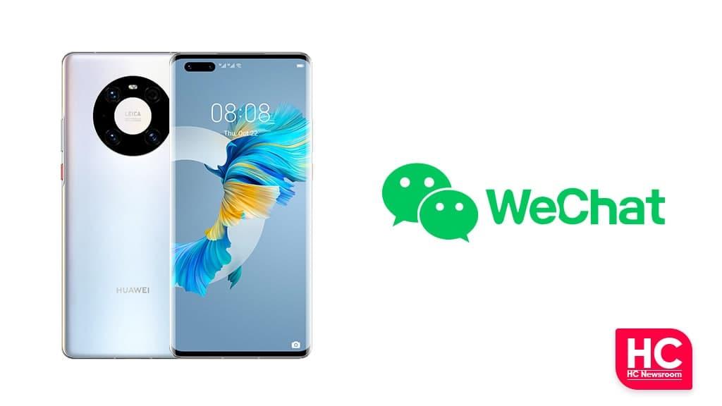 Huawei WeChat calls