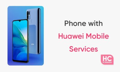 Phone with Huawei Mobile Services