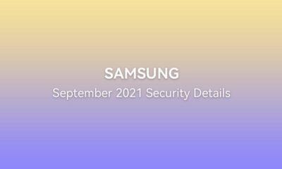 Samsung September 2021 security