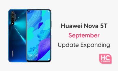 Huawei Nova 5T September 2021 update