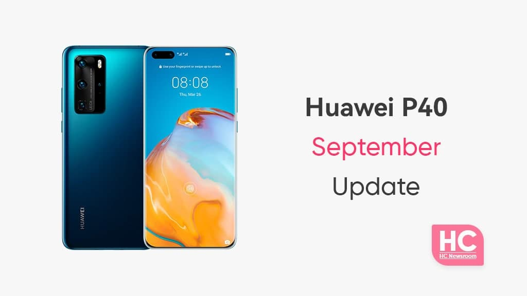 Huawei P40 September 2021 update