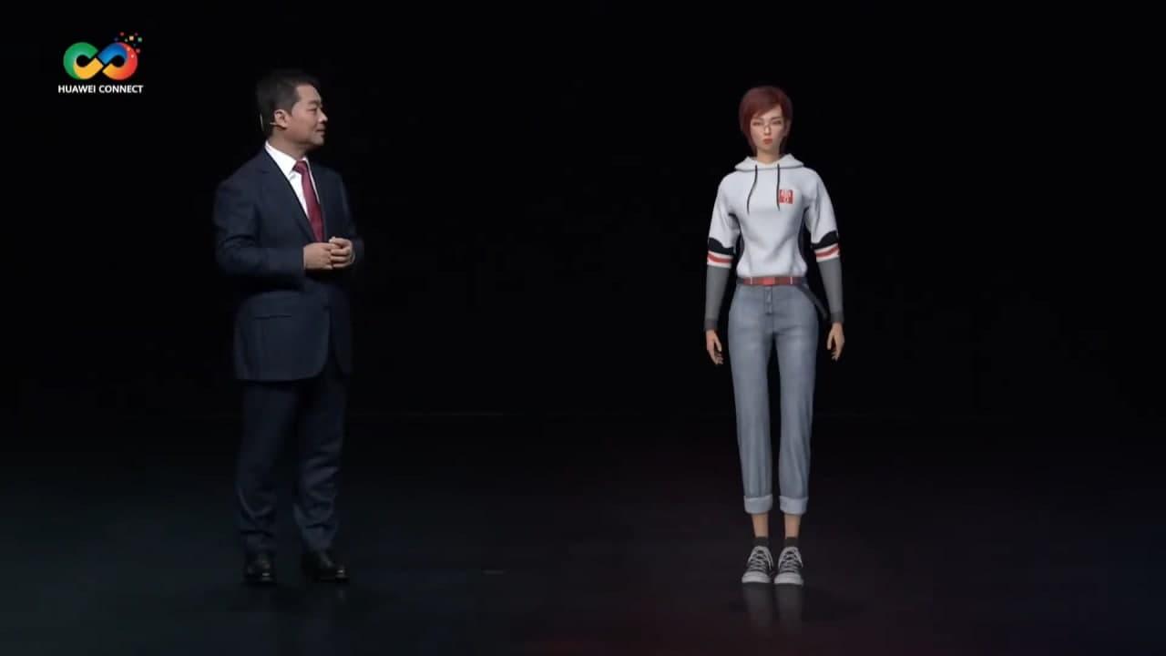 Huawei Virtual Human