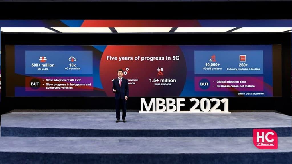 Huawei chairman 5G