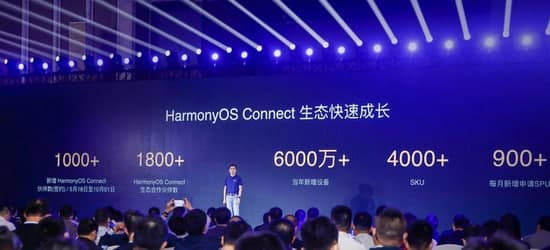 HarmonyOS Connect devices