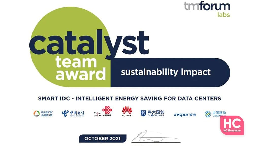 Huawei energy-saving catalyst project