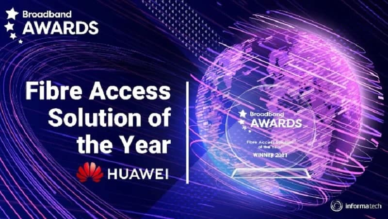 Huawei Fiber Solution Award