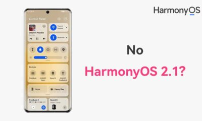 No HarmonyOS 2.1