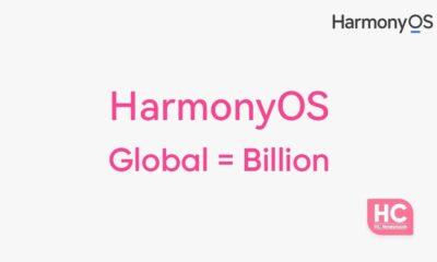 huawei harmonyos global billion