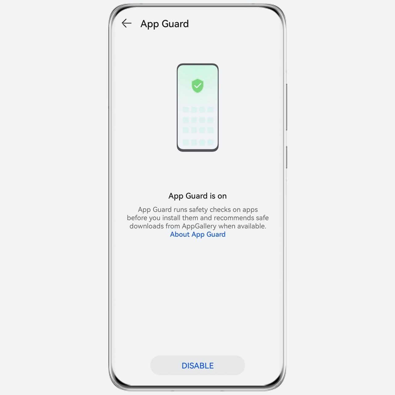 HarmonyOS 2 App Guard