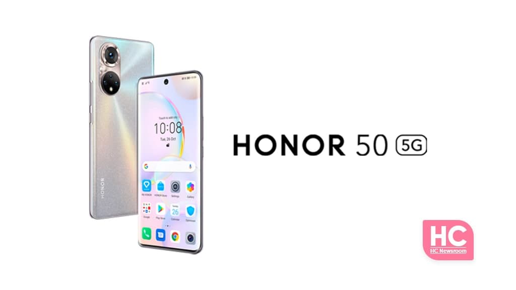 Honor 50 Google Mobile Services