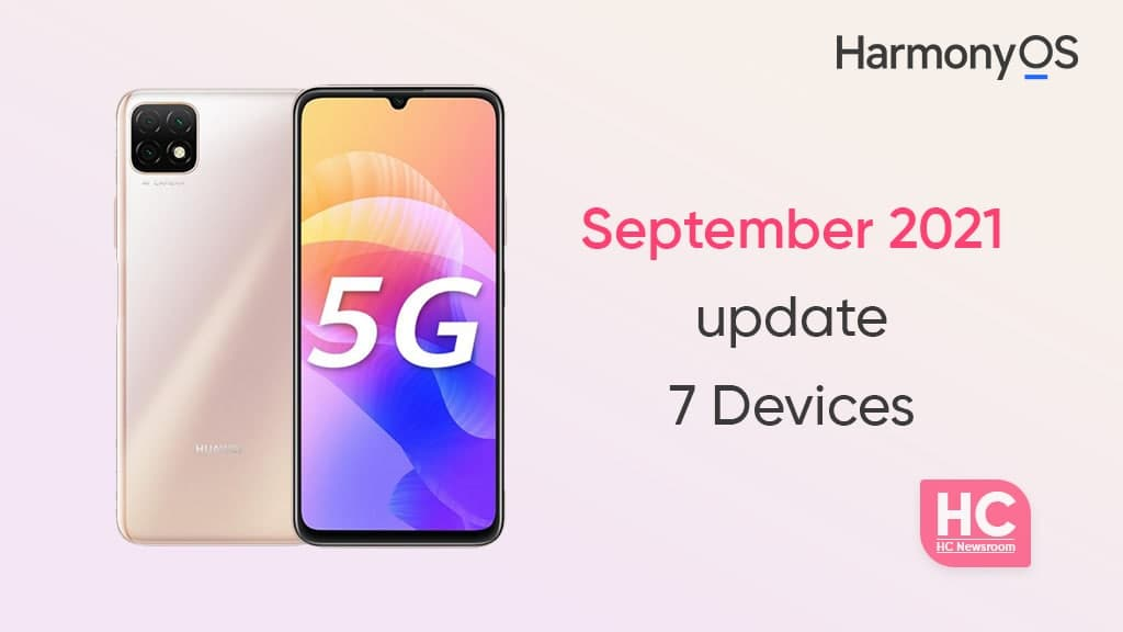 Huawei 7 devices September 2021 update