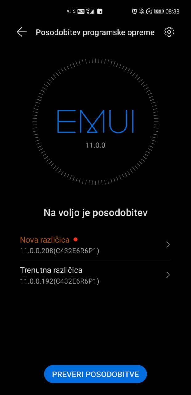 huawei mate 40 pro september 2021 security update