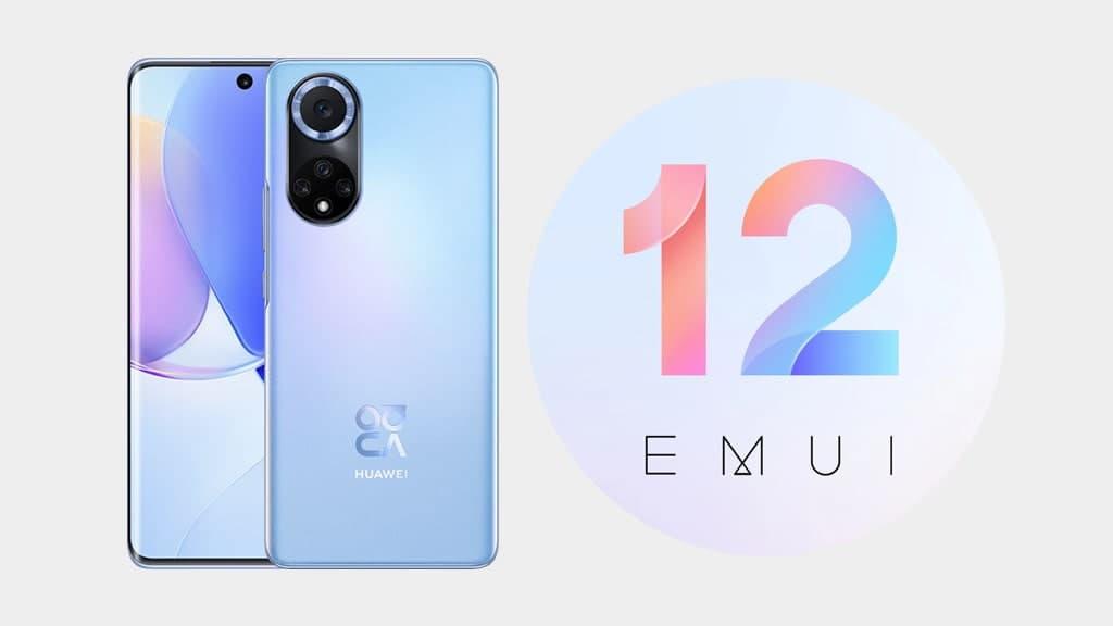 Huawei Nova 9 emui 12