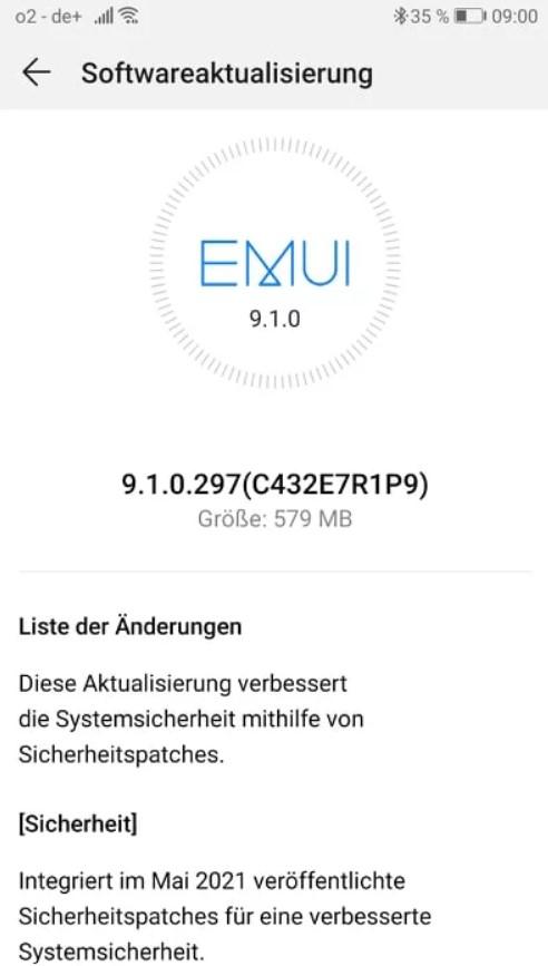 Huawei P10 Plus Major Software update