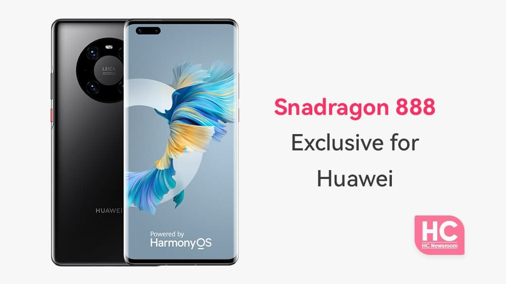 Huawei exclusive Snapdragon