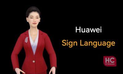 Huawei sign language