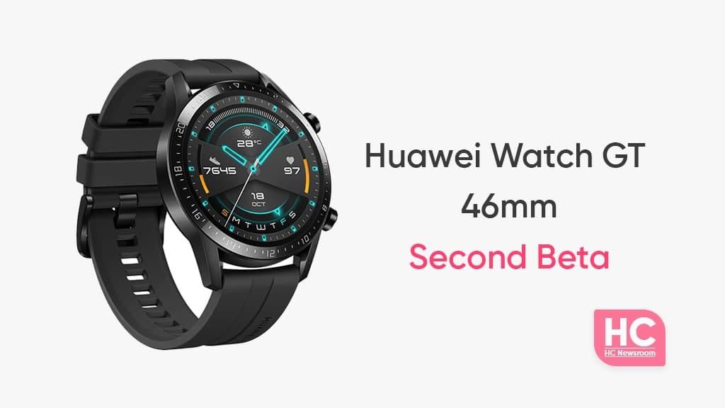 Huawei Watch GT 2 46mm second beta
