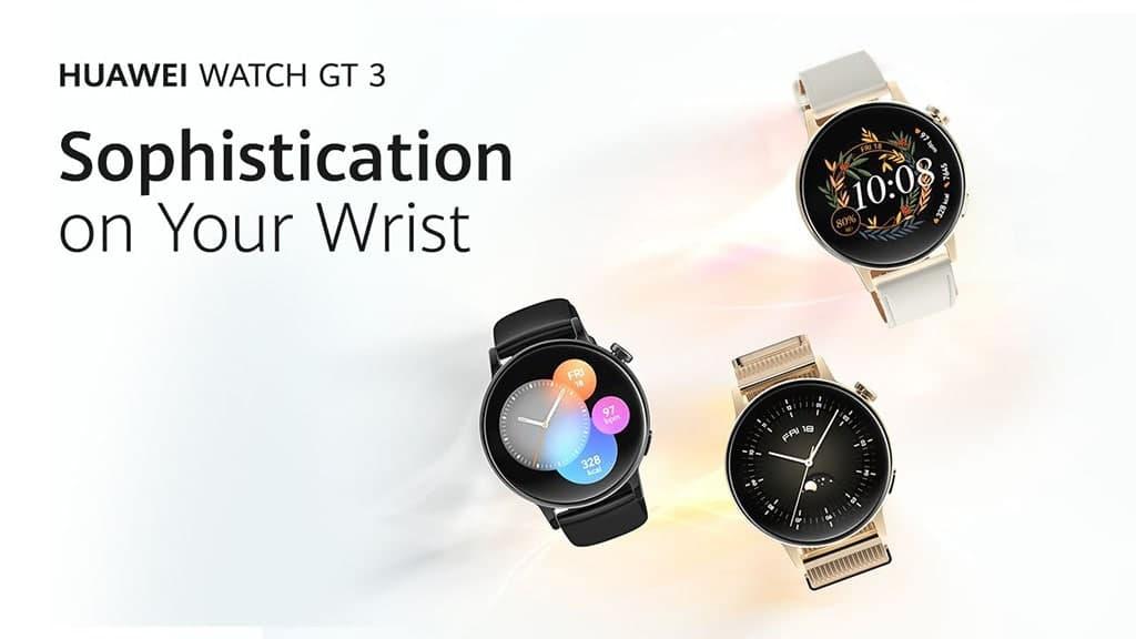 Huawei Watch GT 3 Introduction Video